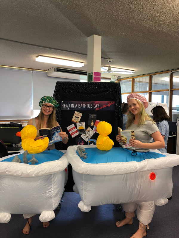Read in a Bathtub Day - MACKELLAR GIRLS CAMPUS LIBRARY